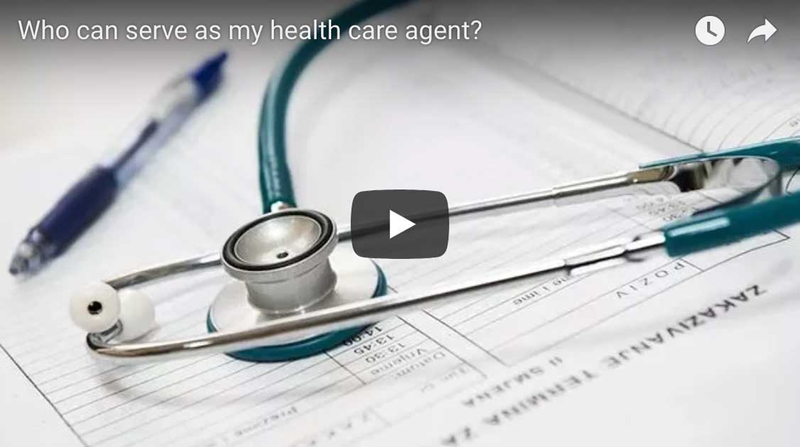 Who can serve as my health care agent