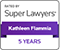 2020 Super Lawyers- 5 year badge Kathleen Flammia