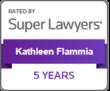 Kathleen Flammia - 2020 Super Lawyers- 5 year badge
